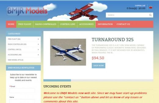 BMJR Models Web Site ReDesign - Harvest Web Design Melbourne Florida