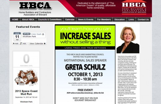 HBCA of Brevard | Harvest Web Design Melbourne Florida