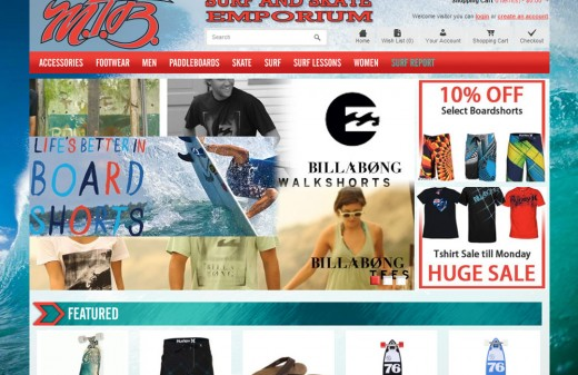 MTB Surf and Skate | Harvest Web Design Melbourne Florida