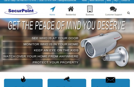 SecurPoint Security - Harvest Web Design Melbourne Florida