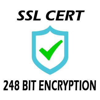 SSL Certificate 248 Bit Encryption