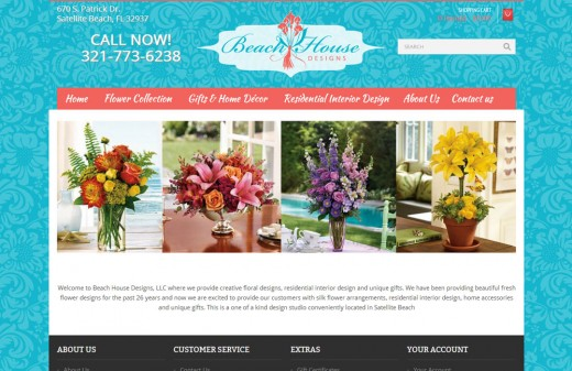 Beachhouse Designs - Harvest Web Design Melbourne Florida