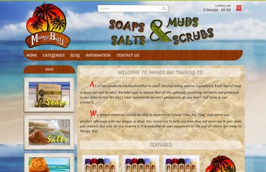 Mango Bay Trading Company Harvest Web Design Melbourne Florida